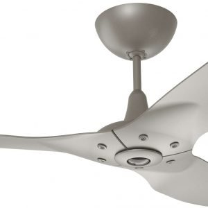 Haiku Outdoor Ceiling Fan: 60″, Satin Nickel Full Appearance, Universal Mount