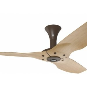 Haiku Ceiling Fan: 52″, Caramel Bamboo, Low Profile Mount: Oil-Rubbed Bronze