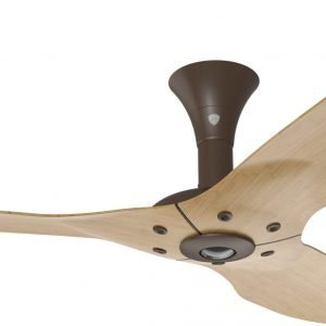 Haiku Ceiling Fan: 60″, Caramel Bamboo, Low Profile Mount: Oil-Rubbed Bronze