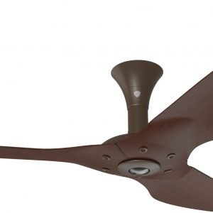 Haiku Ceiling Fan: 52″, Cocoa Bamboo, Low Profile Mount: Oil-Rubbed Bronze