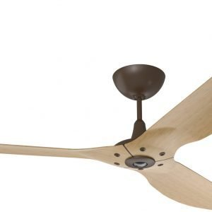 Haiku Ceiling Fan: 84″, Caramel Bamboo, Universal Mount: Oil-Rubbed Bronze